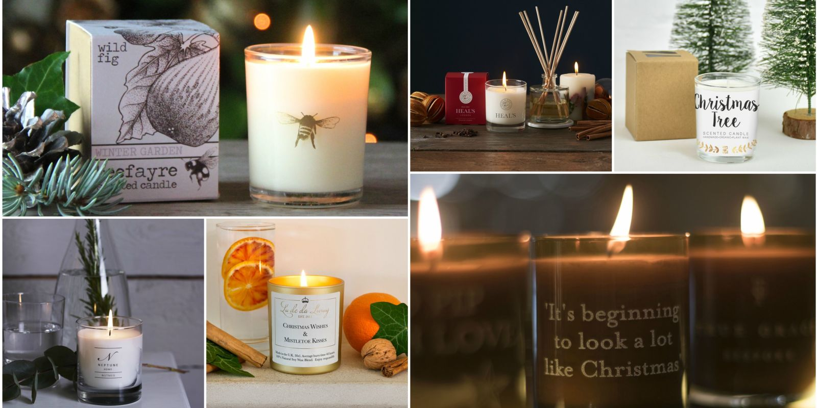 9 Of The Best Christmas Scented Candles