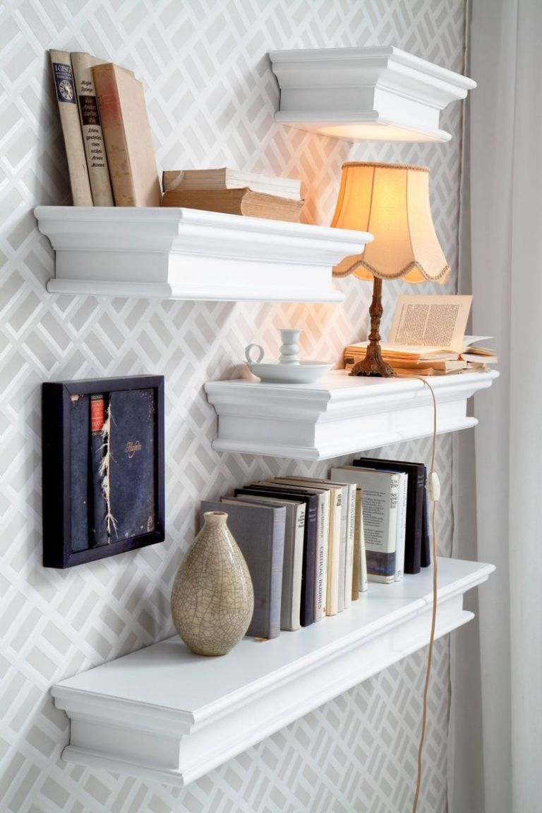 Wall Shelving For Living Room Living Room Storage Solutions Media Units Wall Mounted Shelves