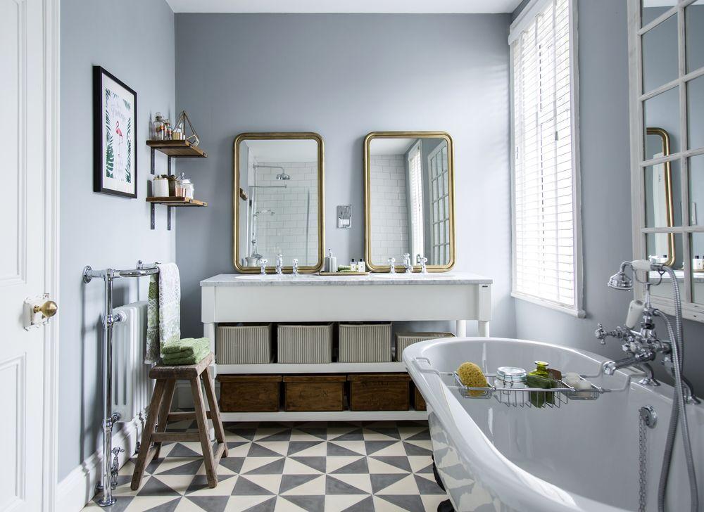 Remove bathroom vanity
