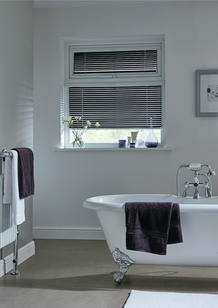 Gray Bathroom Blinds Brightpulseus