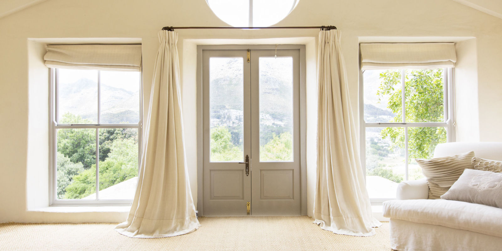 5 great alternative uses for curtains in the home for Window design 2018