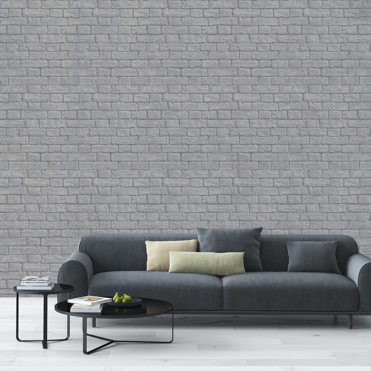 Stylish Brick Effect Wallpaper Designs