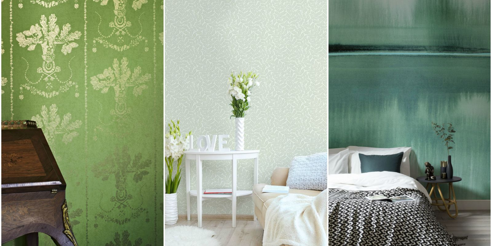 10 Green Wallpaper Designs