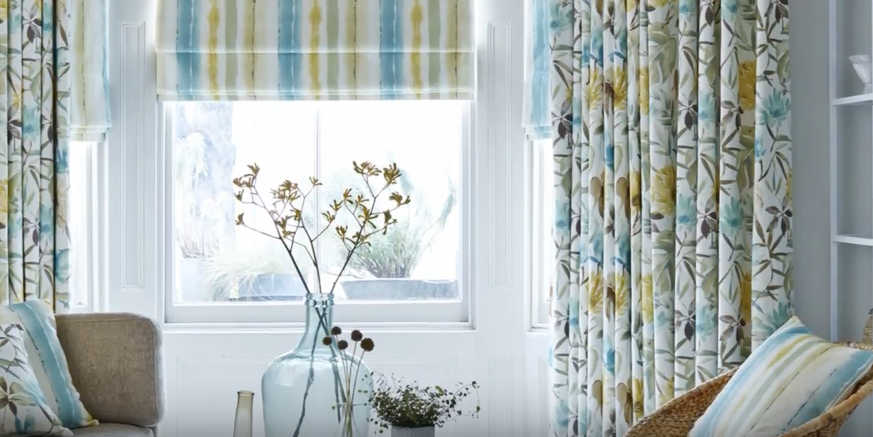 House Beautiful curtains and blinds - exclusive collection at Hillarys