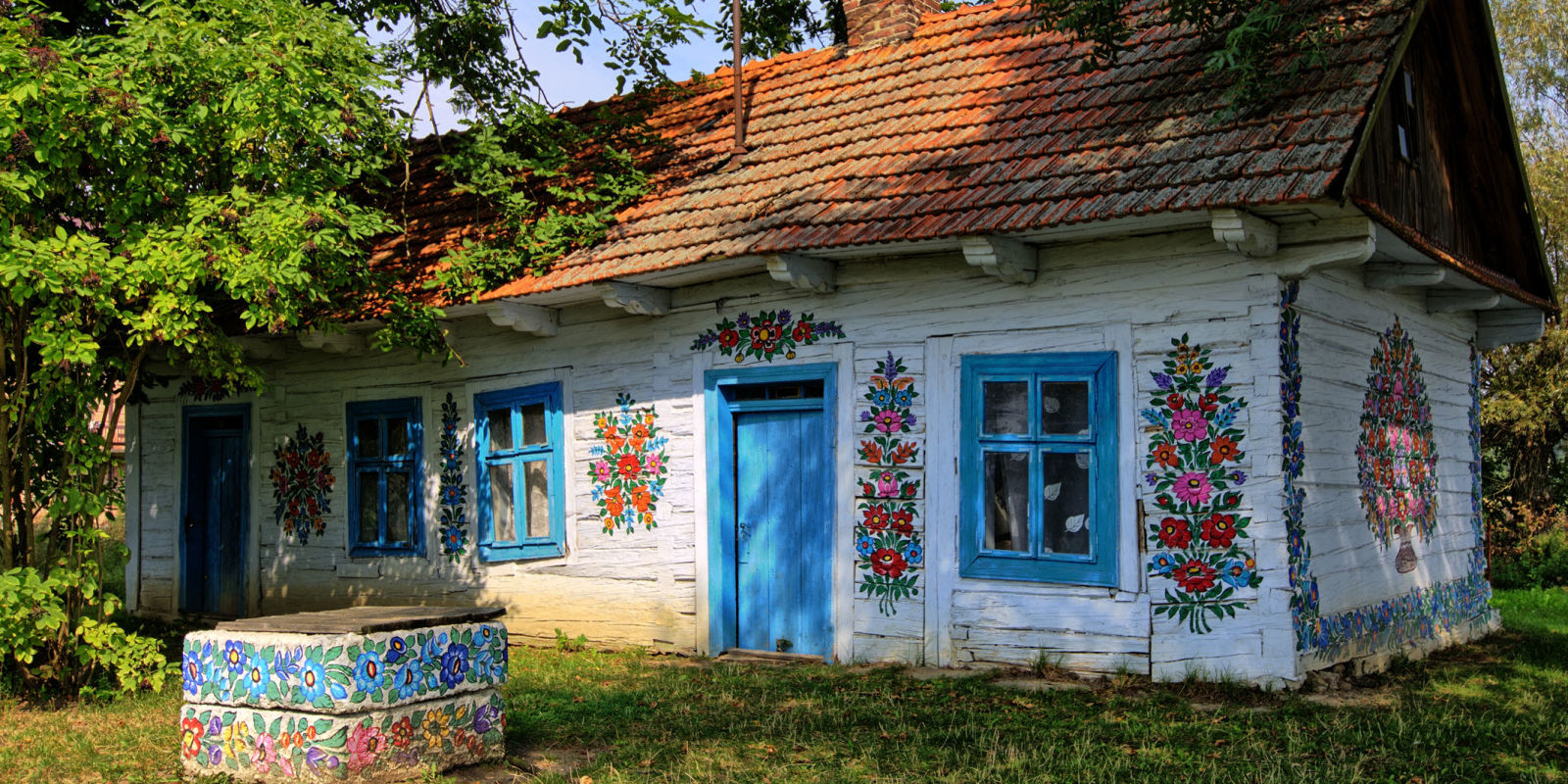 Poland 39 S Colourful Painted Village In Zalipie Is Charming