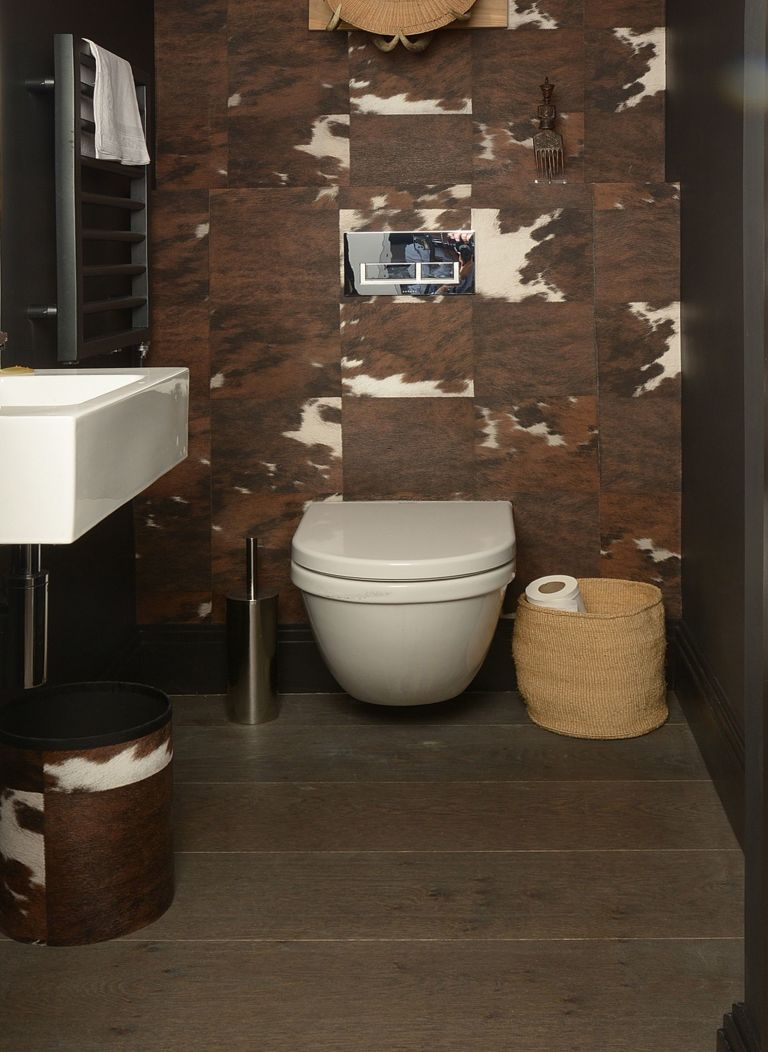 Downstairs Toilet Ideas Best Ways To Transform Your - Small cloakroom toilet ideas