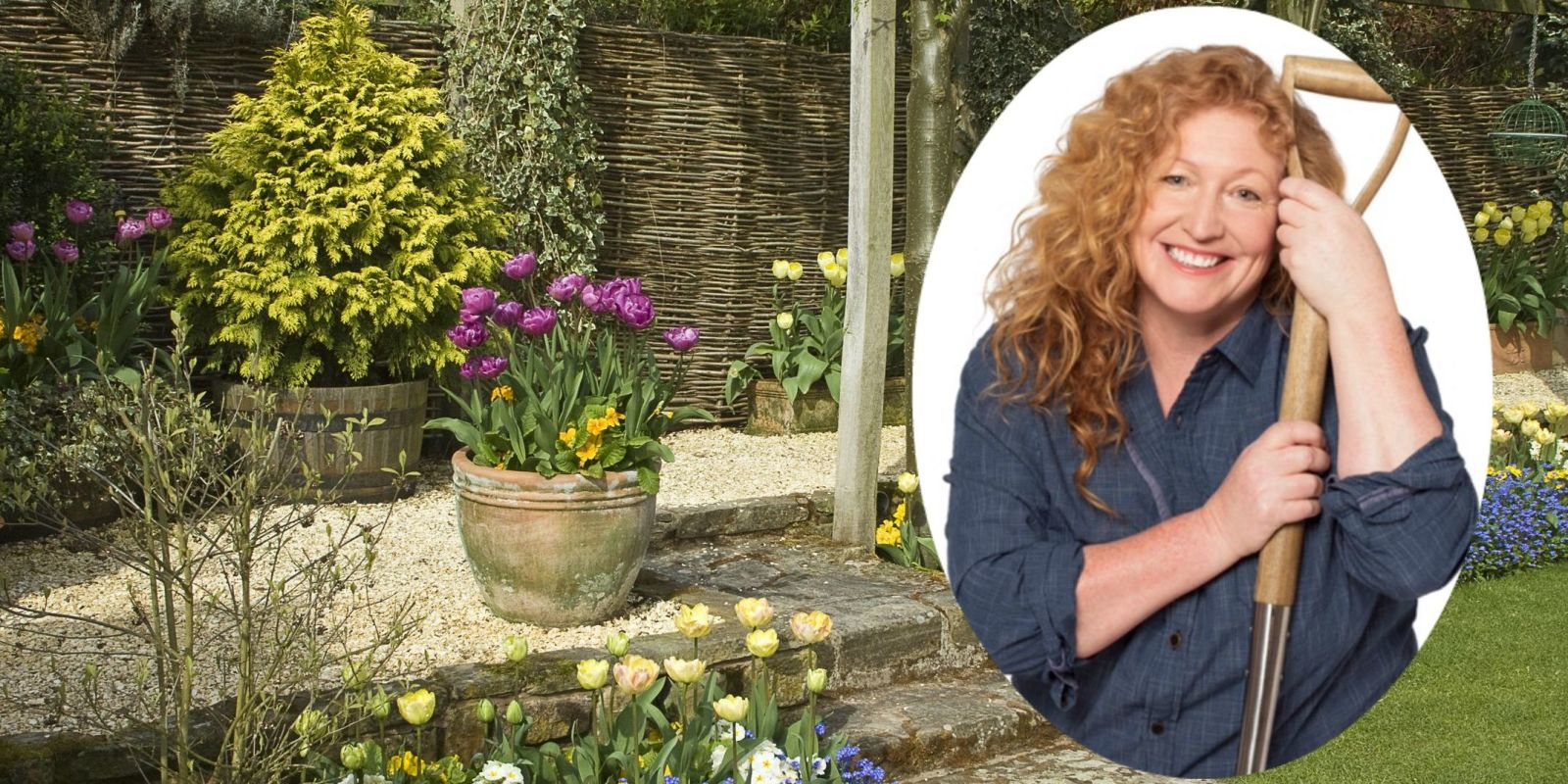 Charlie Dimmock 39 The More People I Can Encourage To Get