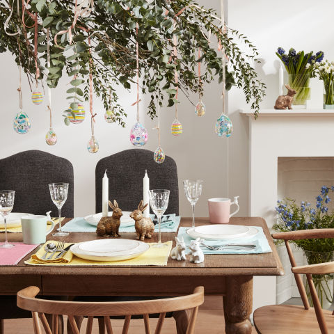 Easter table decorations all the essentials you need for Christmas decorations home bargains