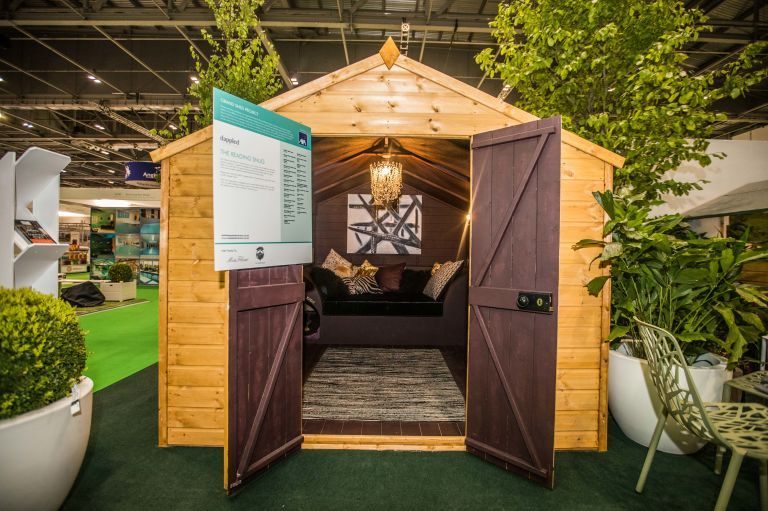 grand shed project sponsored by axa insurance - Garden Sheds Reading