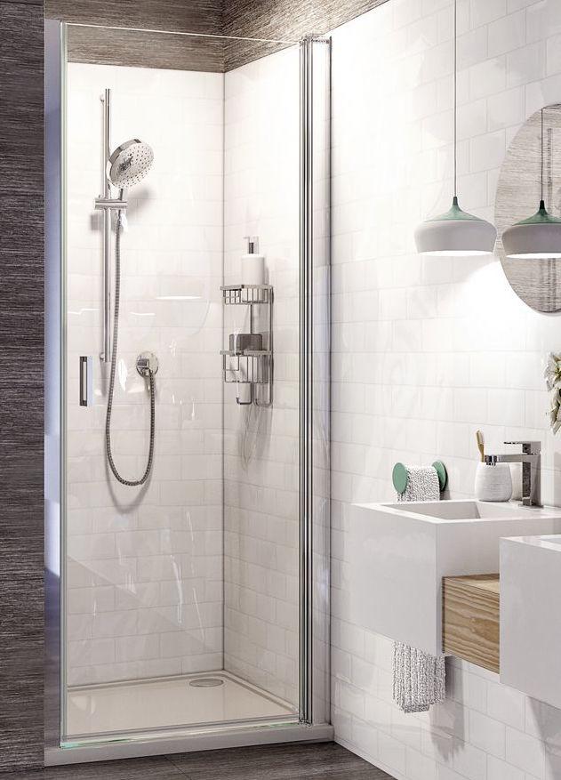 The Innov8 pivot door - Roman Shower