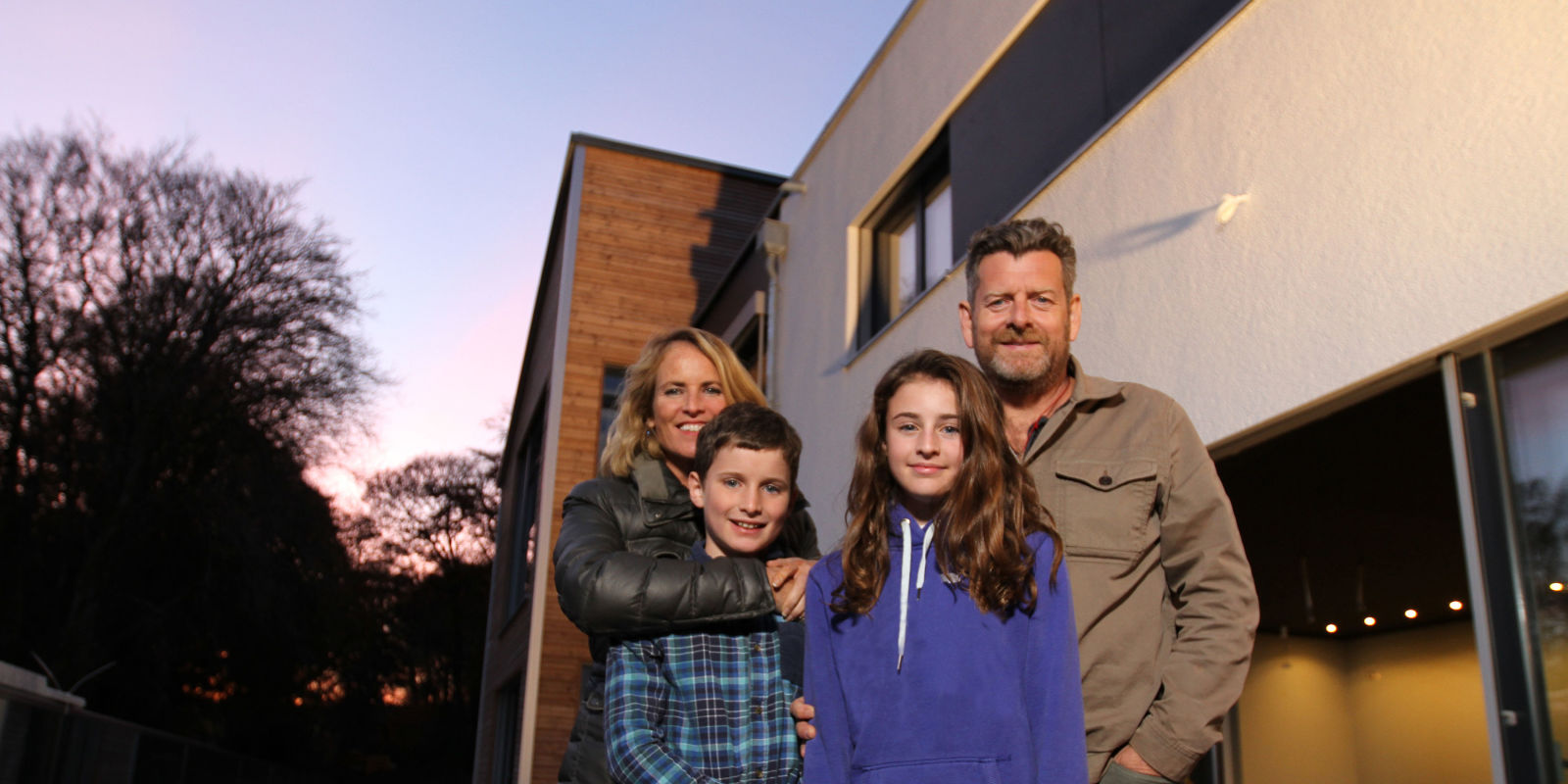 Flat Pack Mansions Couple Build Three Storey Family Home