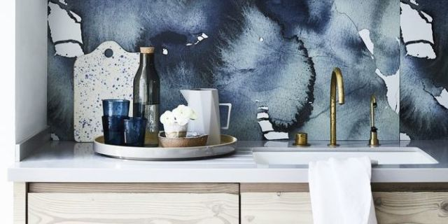 best kitchen designs uk. Inky blue hues  Kitchen design Styling by Sally Denning and Photography Mark Scott House Beautiful win Best Design at of Pinterest UK