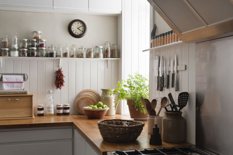White Kitchen With Wooden Worktops how to revive wooden kitchen worktops