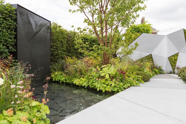 the jeremy vine texture garden designed by matt keightley rhs chelsea flower show