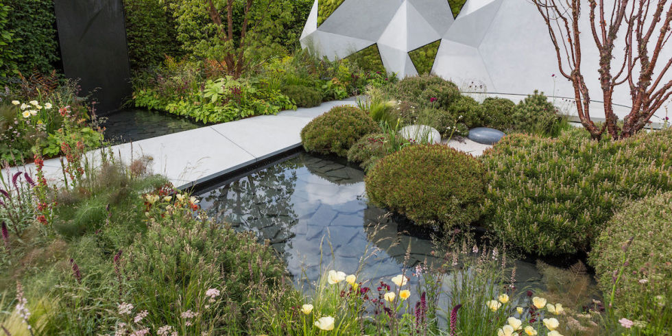 the jeremy vine texture garden designed by matt keightley rhs chelsea flower show - Garden Design Trends 2017
