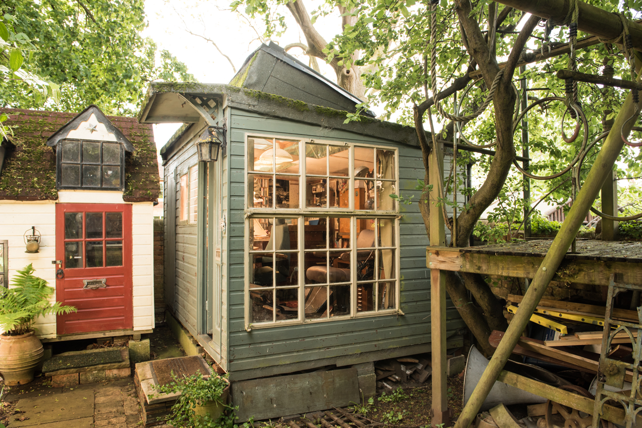 Author Philip Pullman S Old Shed Makes Shortlist For Shed