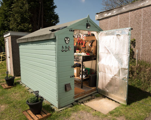 Author Philip Pullman 39 S Old Shed Makes Shortlist For Shed Of The Year 2017 Workshop And Studio