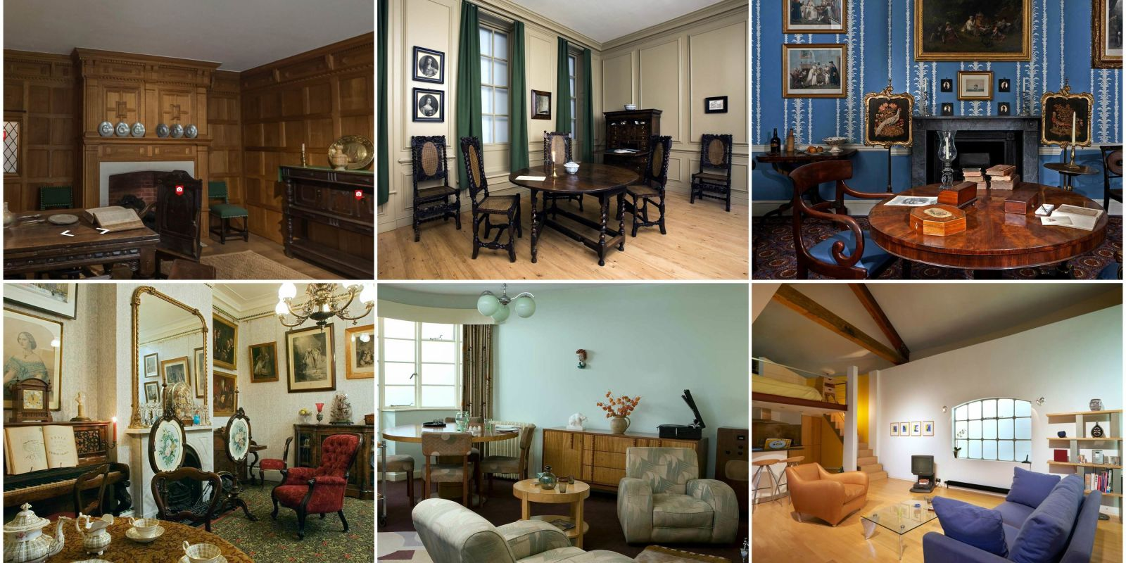 A Virtual Tour Of Interior Design In London Through The Ages