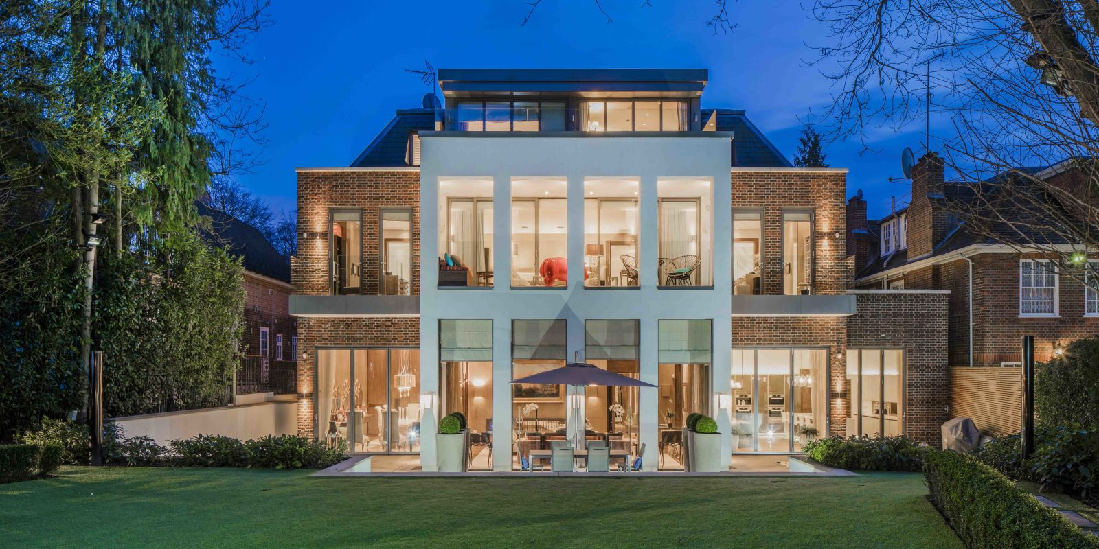 Kelly hoppen designed this extravagant highgate property House beautiful com kitchens