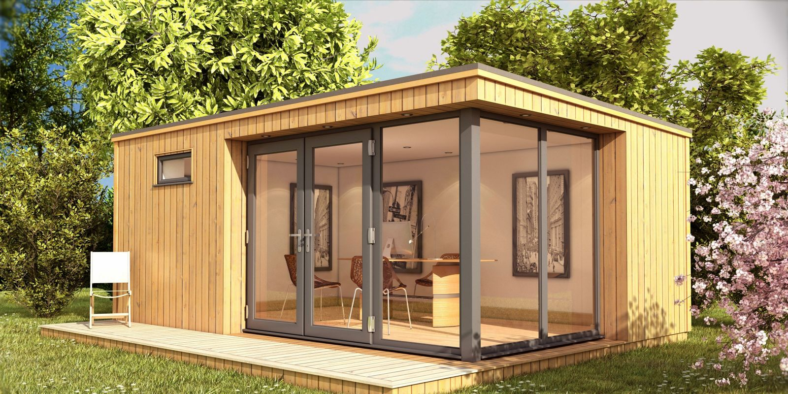 10 fun and creative garden room ideas for The garden room company