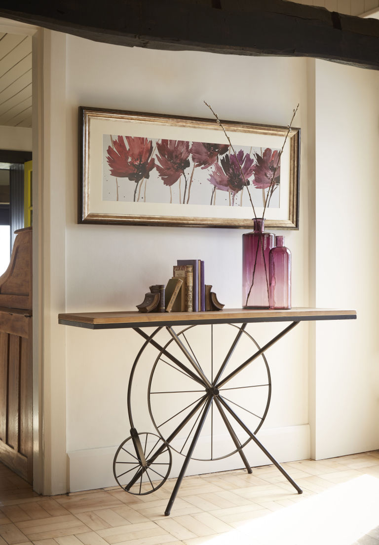 kaleidoscope Framed Print £89 and Console Table £250 both available from www.kaleidoscope.co.uk
