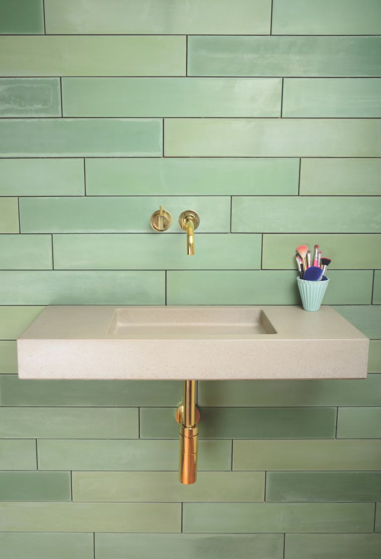 7 Green Bathroom Decor Ideas   Designs, Furniture And Accessories
