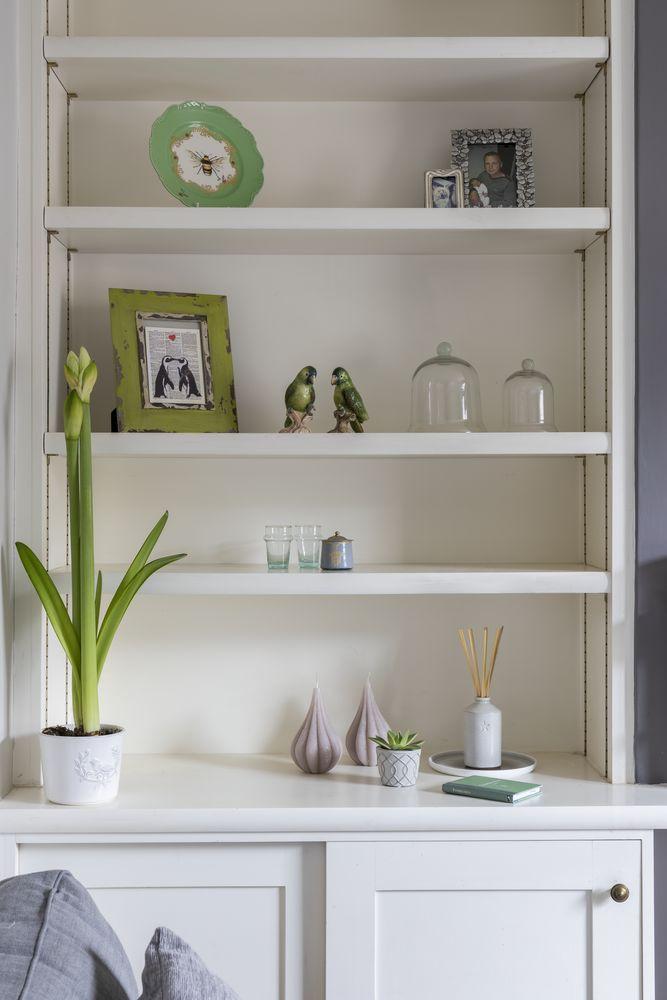 Designer Kelly Willmott's compact living room