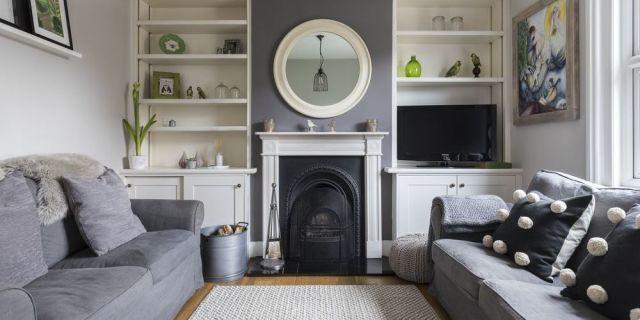 designer kelly willmotts compact living room - Ideas For Living Room Design