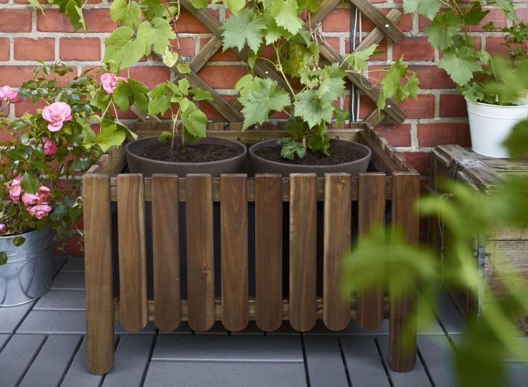 Ikea askholmen  How To Make A Wooden Planter - Trough Garden Planters