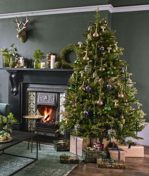 John Lewis Into The Woods Christmas Theme