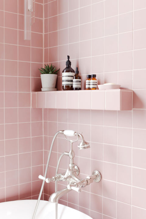 2LG Studio   Pink Bathroom Look: Tile Giant Victorian Pink Tiles And  Products From Victoria Part 91