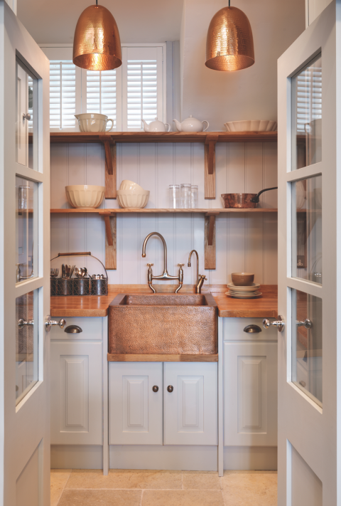 7 ways to create a country kitchen fit for 2018 kitchen for Kitchen lighting ideas john lewis