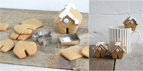 Create Mini Gingerbread Houses With This Cutter Set