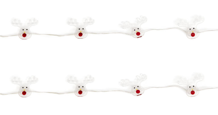REINDEER LIGHTS, string of 20, Ã'£8, Marks & Spencer