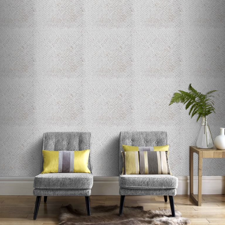 Graham and Brown Roomset - patterned grey wall