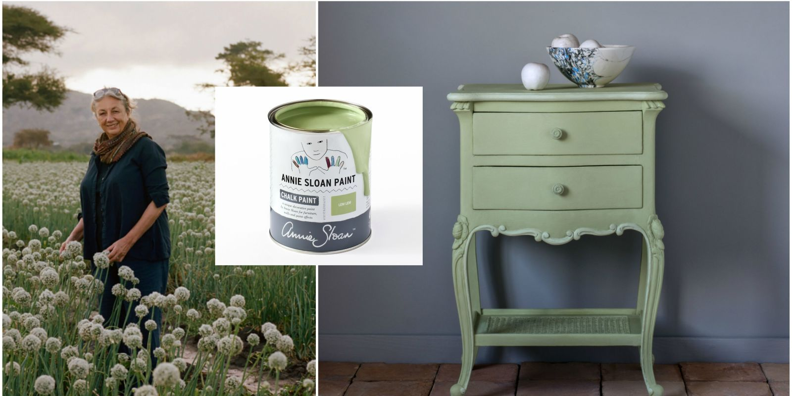 New Annie Sloan Chalk Paint Lem Lem Is The Colour Of Hope