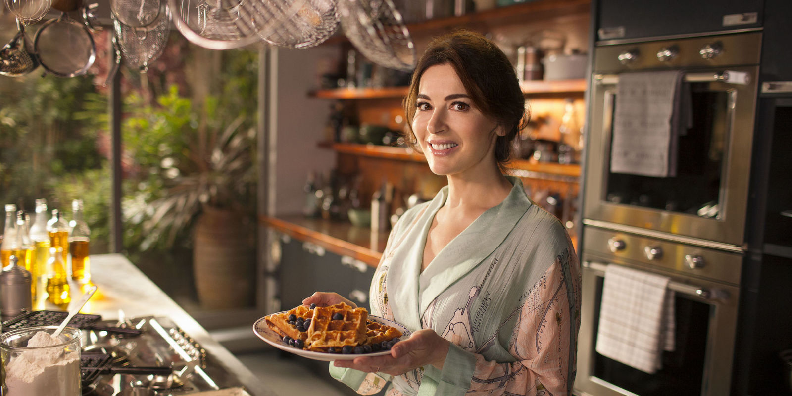 Nigella Lawson 39 S Bbc Series At My Table Is Filmed In A