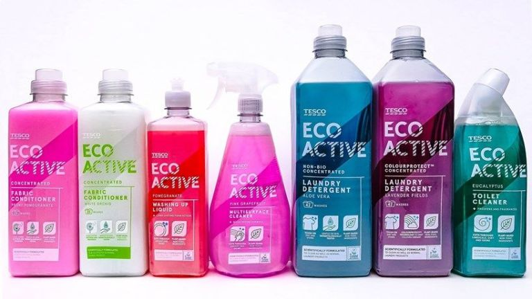make ecofriendly cleaning products tesco eco active ecocleaning product range
