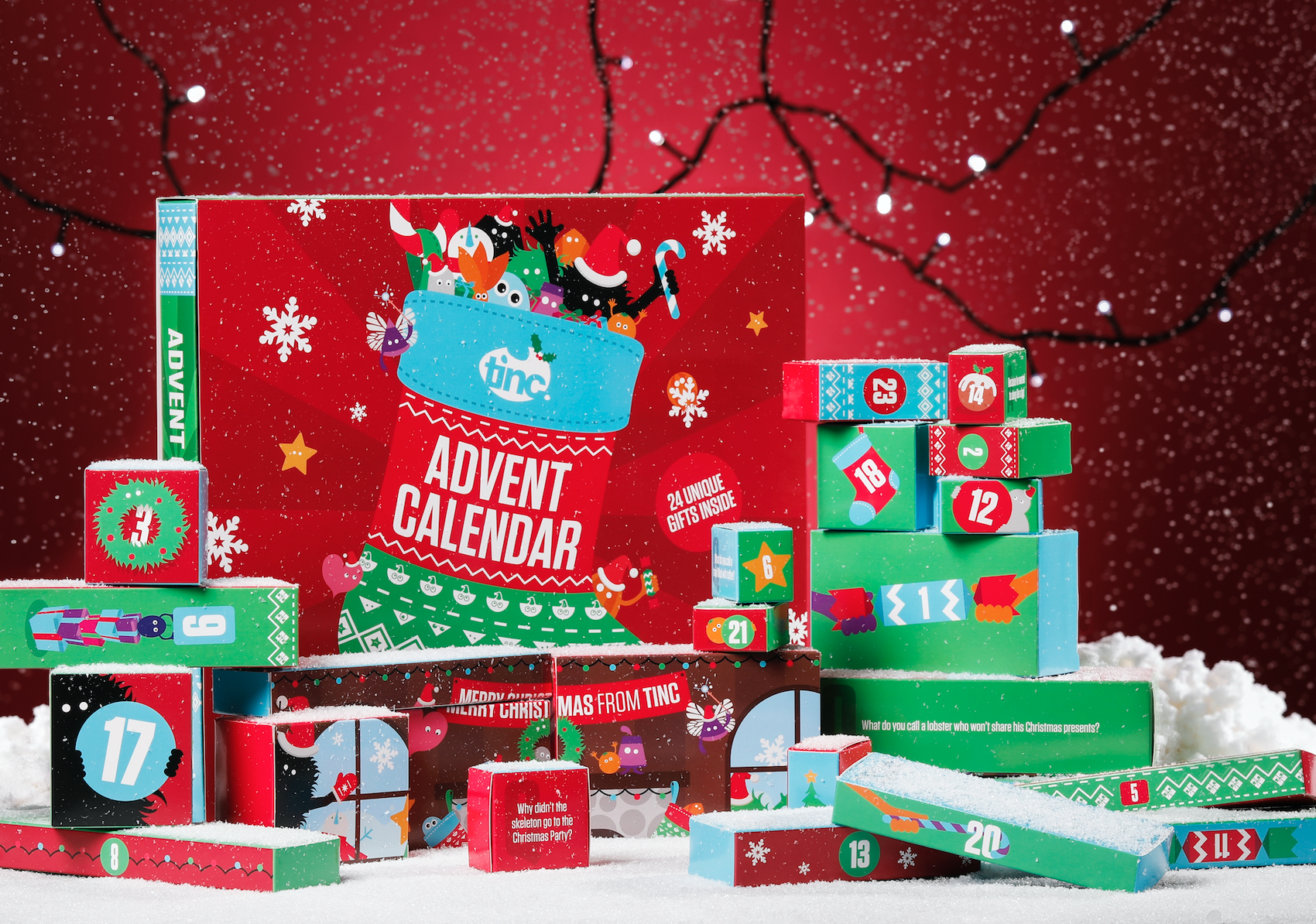 Best alternative christmas advent calendars 2017 non Advent calendar non chocolate