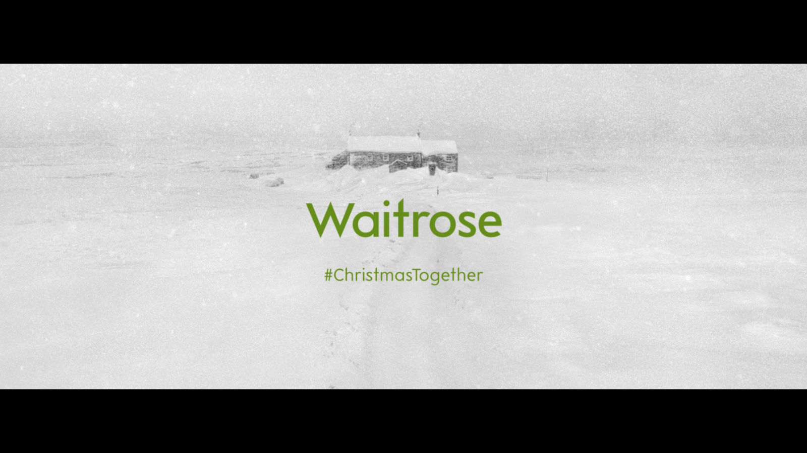 Waitrose S Black And White Christmas Advert Is Inspired By