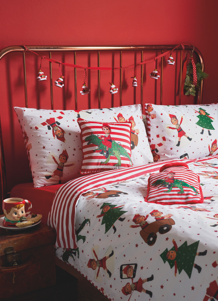 Asda Christmas Bedding Elf Duvet Set Is A Best Seller