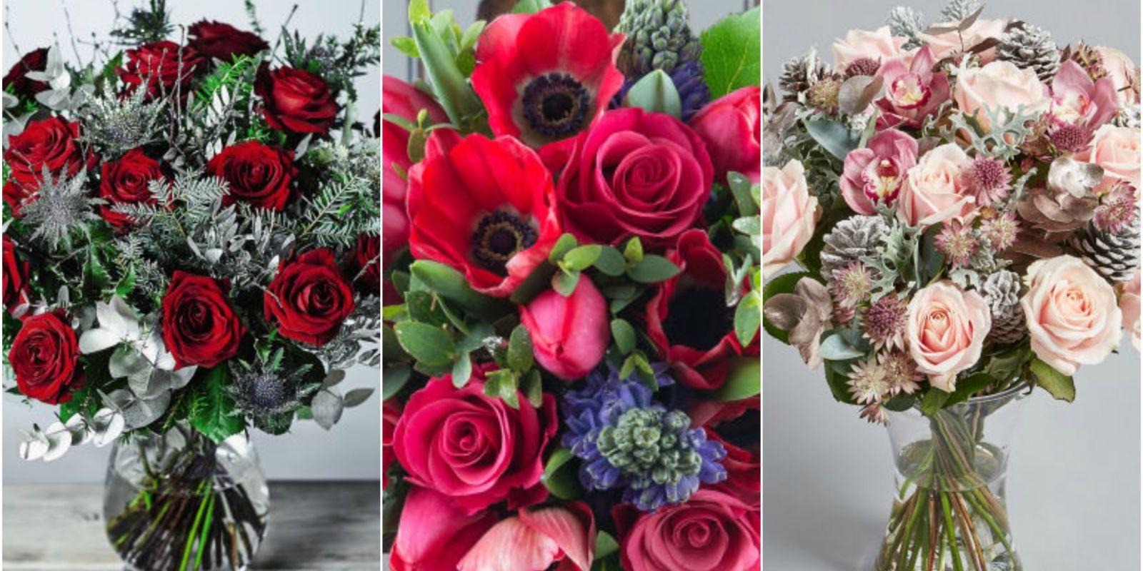 best christmas flowers   best bouquet flower arrangements
