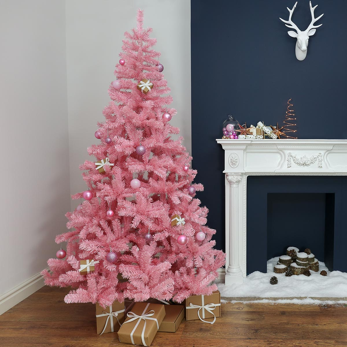 Pink Christmas Trees Are In Demand Artificial Christmas