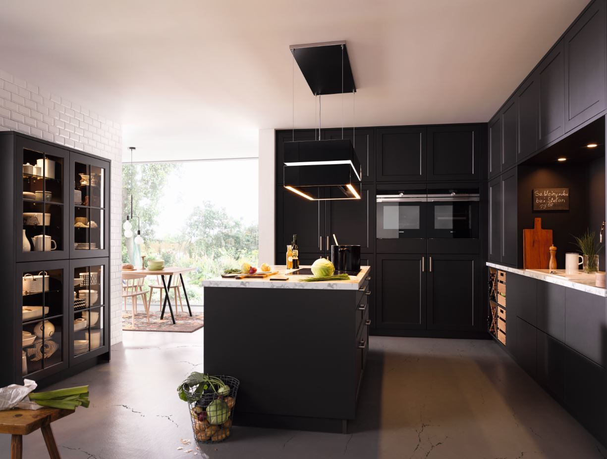 Sch ller kitchen  black units House Beautiful win Best Kitchen Design at of Pinterest UK