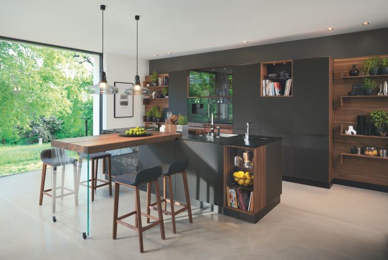 New Design For Kitchen Design Ideas - Grey copper kitchen