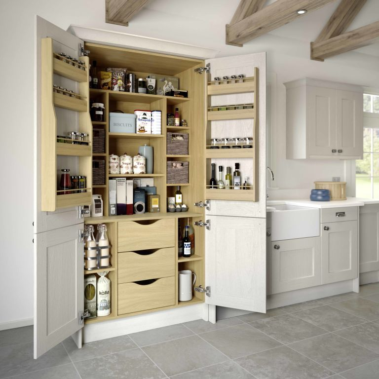 Superbe Kitchen Pantry Storage, LochAnna