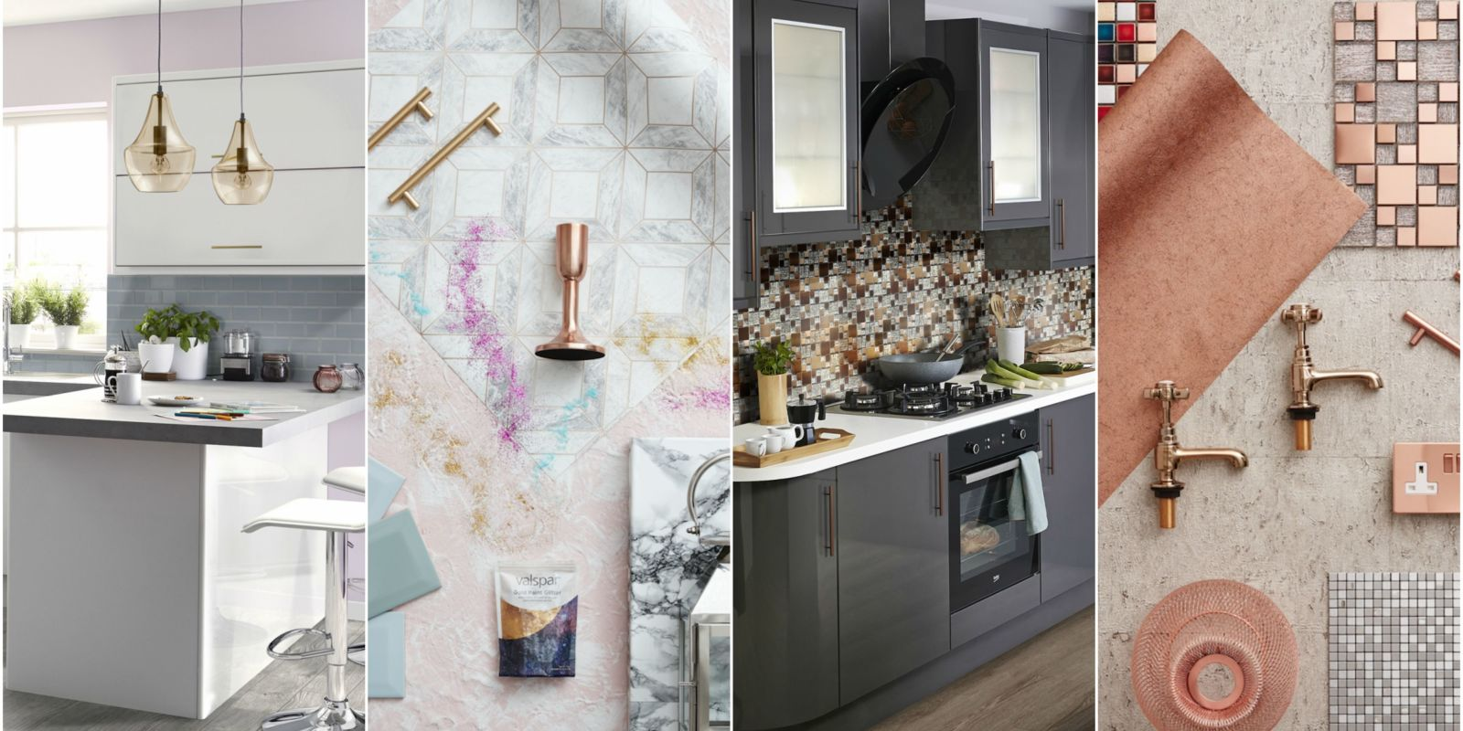 The top kitchen designs that pinterest users are obsessed for Kitchen cabinet trends 2018 combined with textual wall art