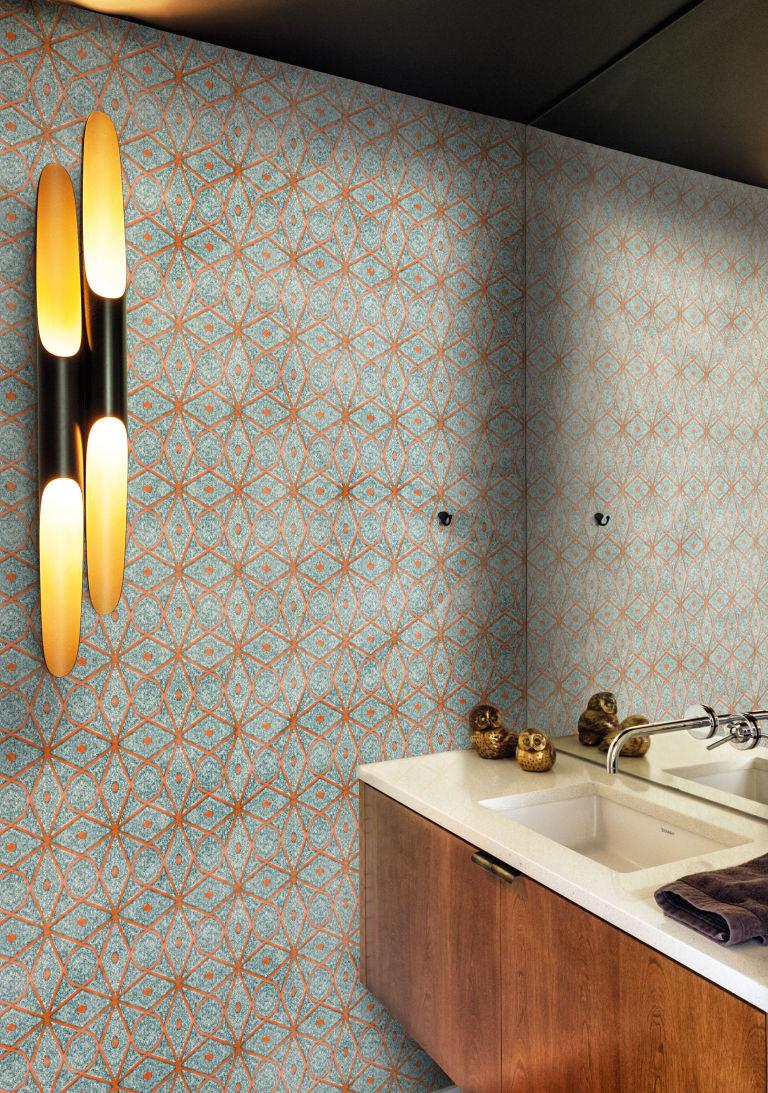 Wall&Deco Wet System 16 - Batik, £156 per sq m, West One Bathrooms