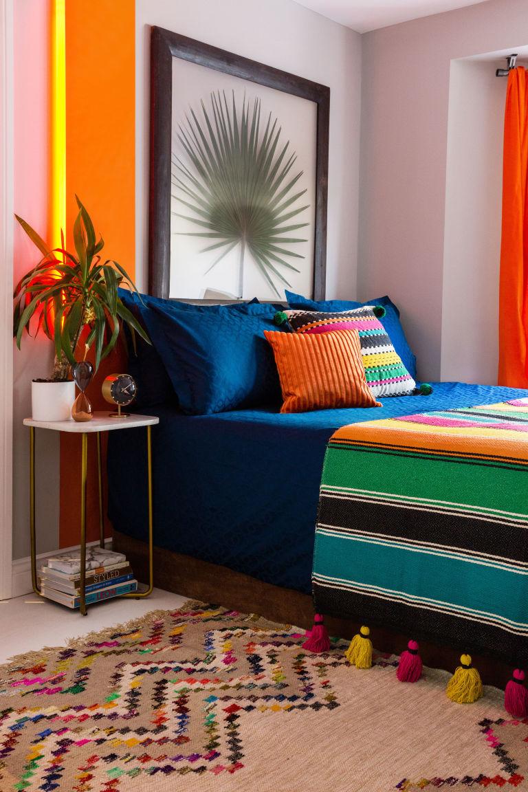 Colourful bedroom, Amara