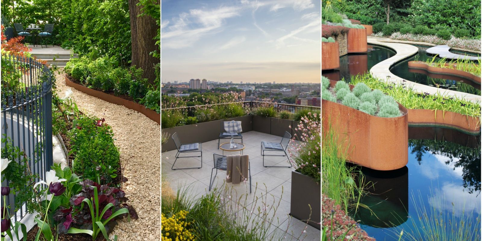 Garden design pictures winners of the society of garden for Garden idea ht 450